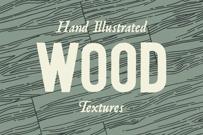 Thumbnail for Hand Illustrated Wood Texture Patterns