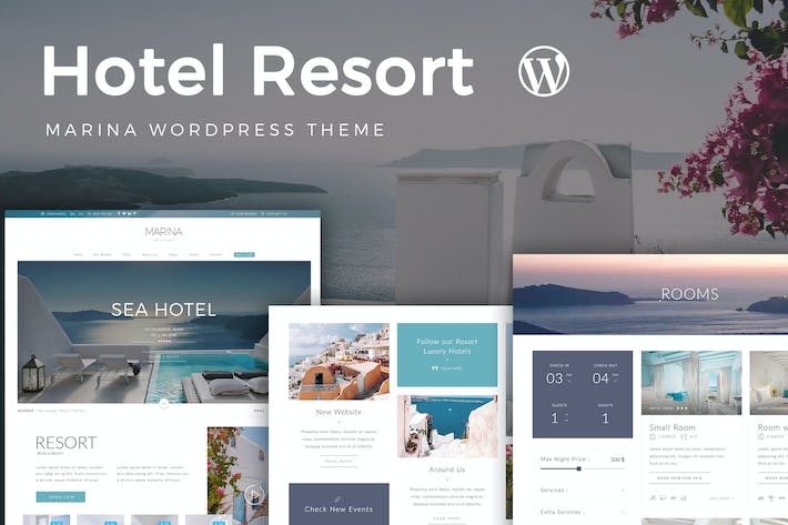 Thumbnail for Resort Hotel WordPress Theme