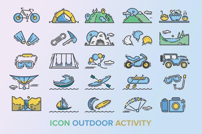 Thumbnail for Icône d'activité extérieure