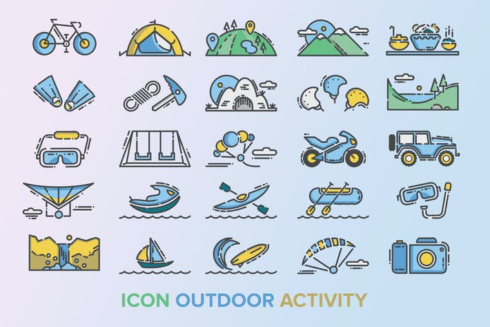 Outdoor Activity Icon