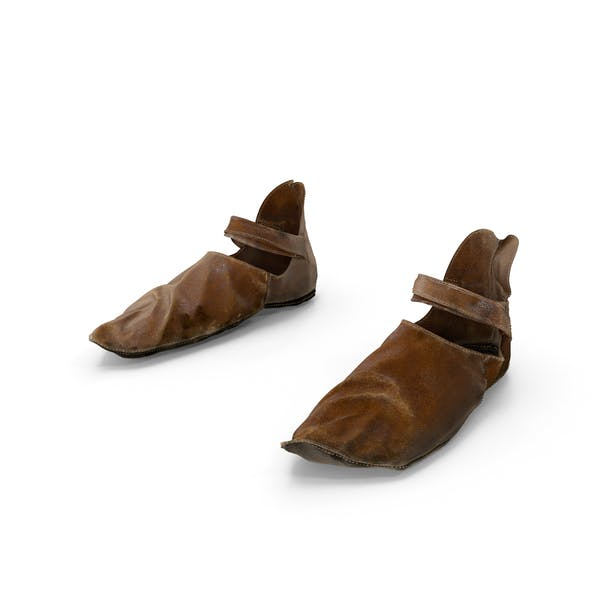Medieval Leather Shoes