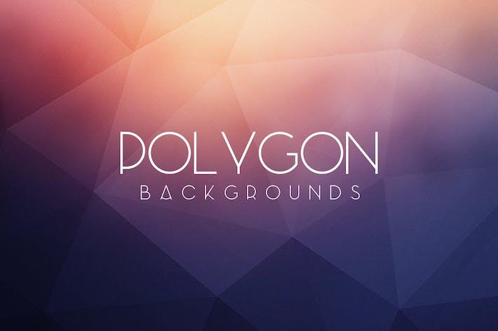 Cover Image For Fondos de polígonos Resumen