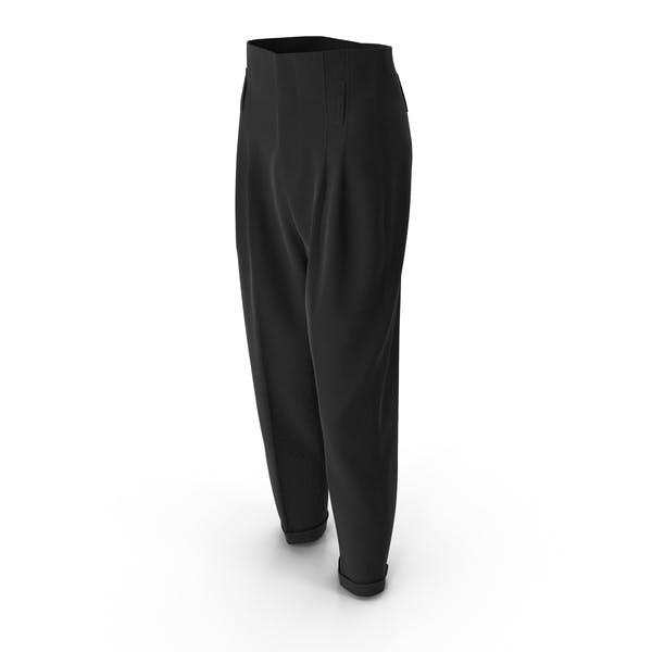 Женские брюки черный