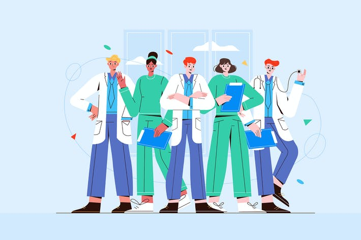 Medical Staff Healthcare Workers