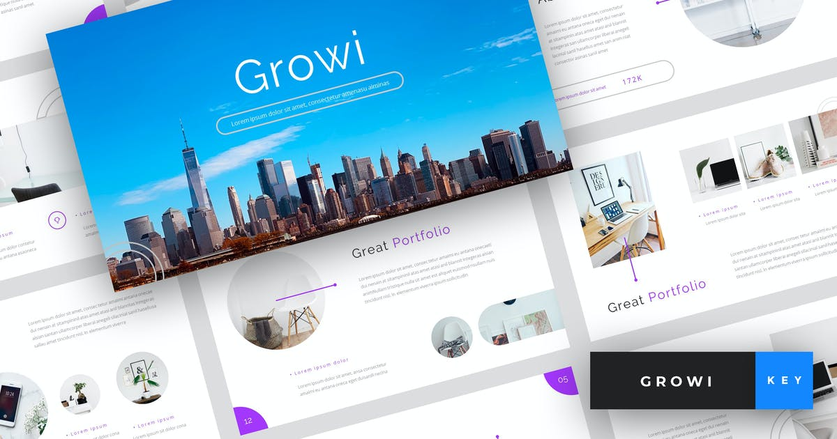 Growi - Business Keynote Template by StringLabs