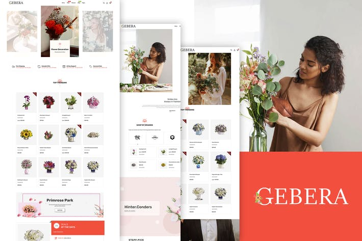 Thumbnail for Gerbera - Floristería Boutique & Decoración Shopify