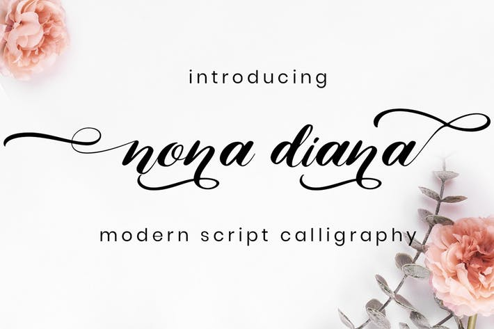 Thumbnail for Nona Diana - Script Font