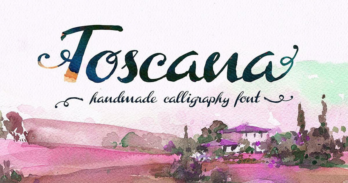 Download Toscana Font by DesignSomething