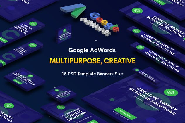 Creative Agency, Startup Banners Ad