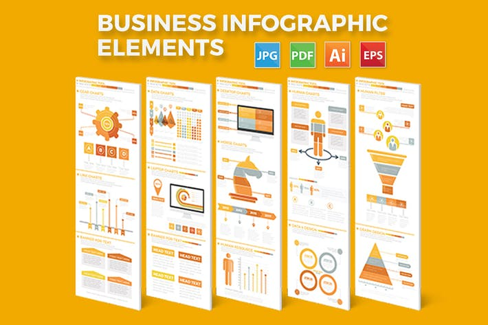 Cover Image For Business Infographics Elements