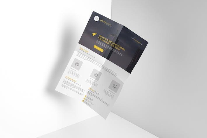 Thumbnail for Creative Agency Flyer