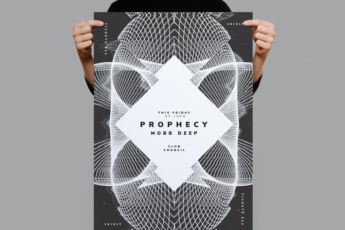 Thumbnail for Prophecy Flyer / Poster Template