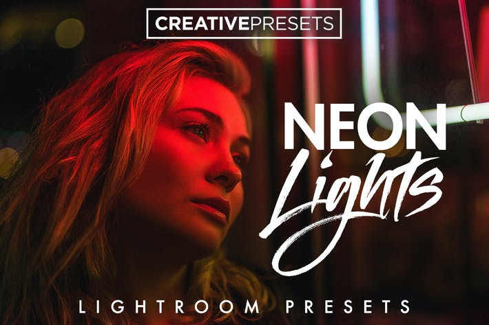 Thumbnail for Neon Lights Lightroom Presets