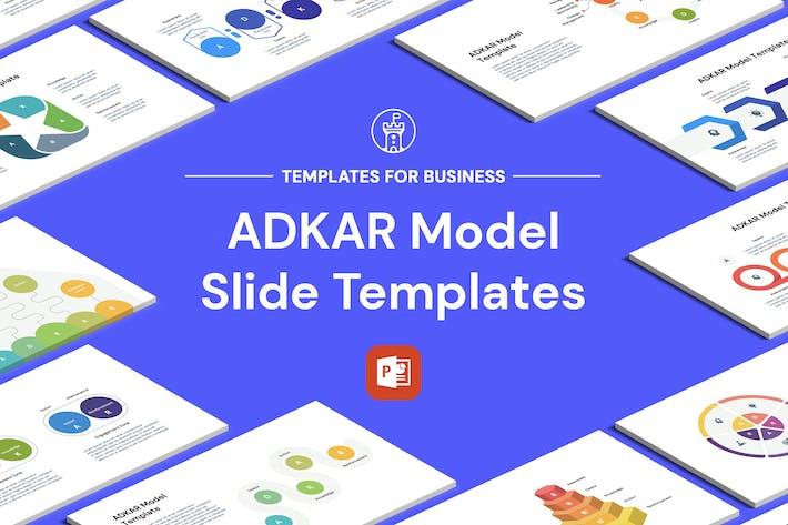 Thumbnail for Шаблоны Powerpoint модели ADKAR