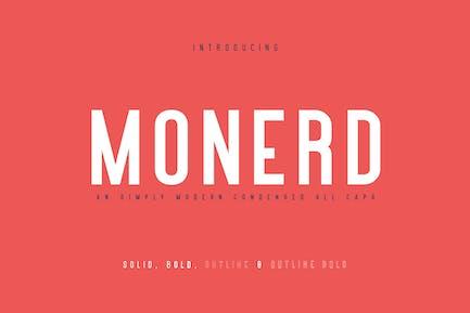 Monerd - Simply Sans Con serifa
