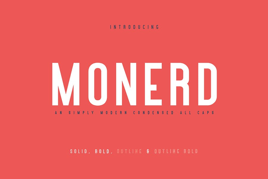 Monerd - Simply Sans Serif
