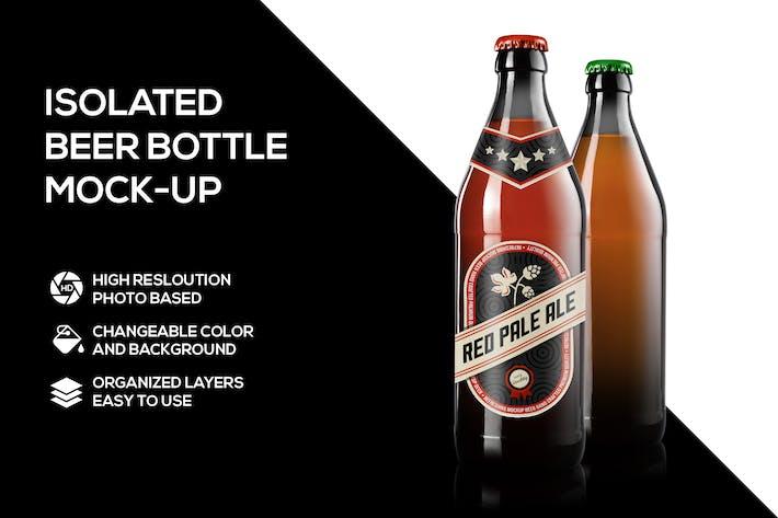 Thumbnail for Beer bottle mockup
