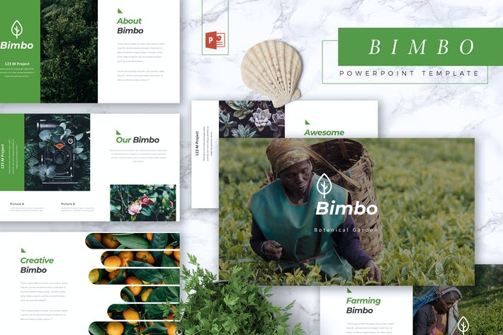 Thumbnail for BIMBO - Botanical Powerpoint Template