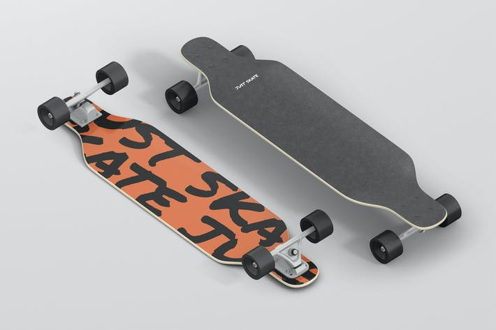 Cover Image For Freeride Longboard Mockup