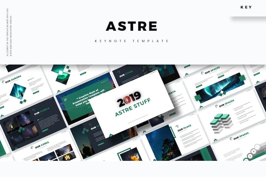 Astre - Keynote Template