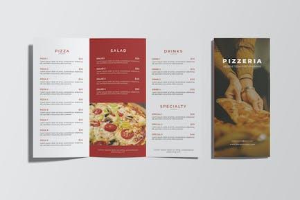 Pizzeria Restaurant Menu