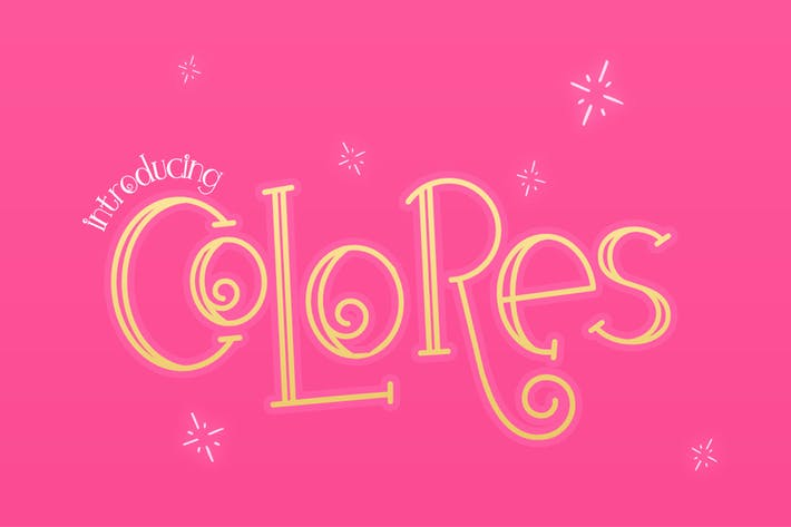 Thumbnail for Colores Font Duo