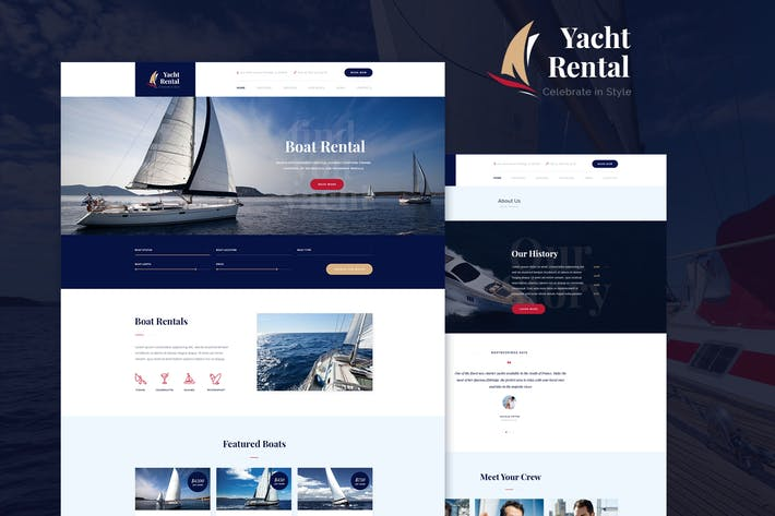 Thumbnail for Yacht Rental