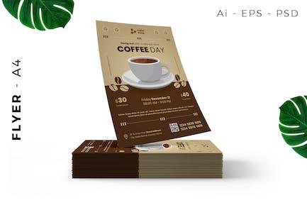 Café/Kaffee Event Flyer Design