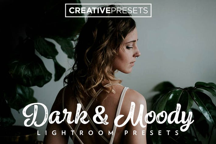 Cover Image For Dark And Moody Lightroom presets