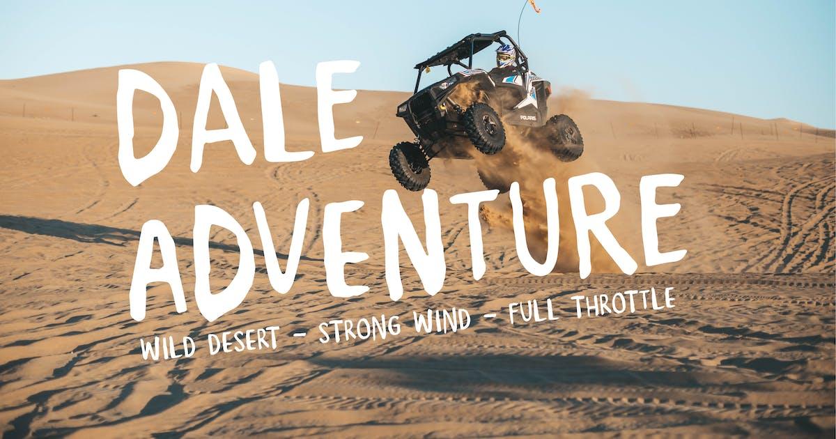 Download Dale Adventure - Exploration Font by alexacrib