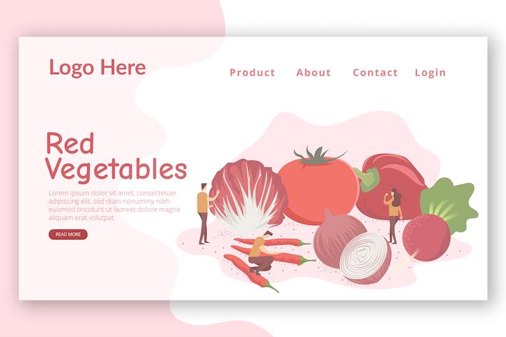 Thumbnail for Fresh Vegetables - Landing Page