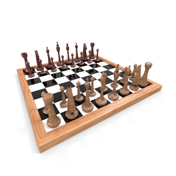 Thumbnail for Wooden Chess Set