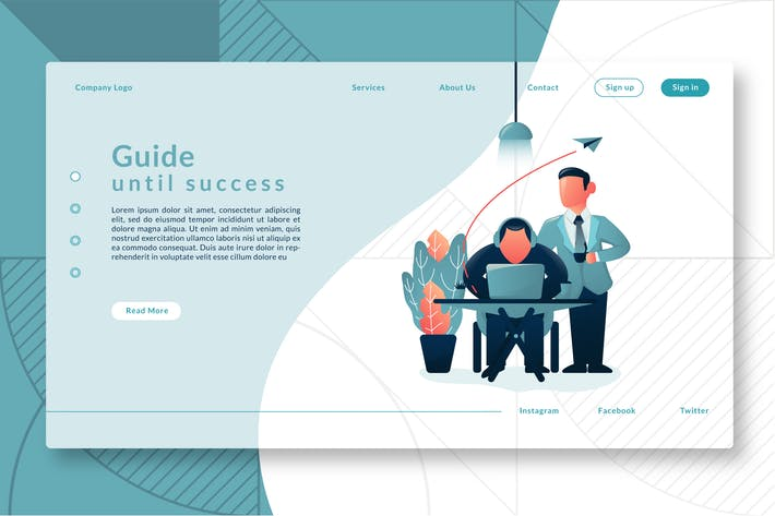 Cover Image For Guide Until Success - Landing Page GR