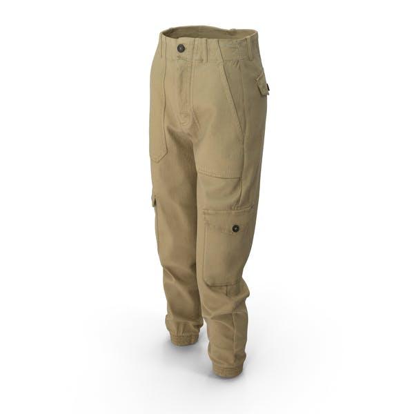 Womens Pants Yellow