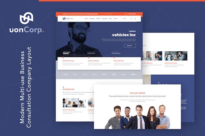 Uon Corp | Unternehmens- und Unternehmensberatung WordP