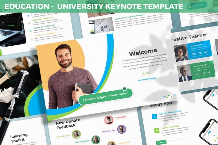 Thumbnail for Education - University Keynote Template