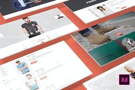 Canifa - eCommerce Adobe XD-Vorlagen