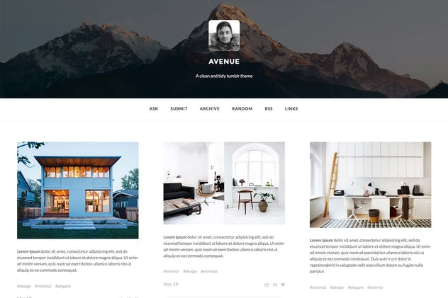 Avenue - A wide post Grid Theme - product preview 0
