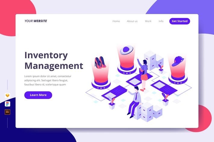 Thumbnail for Inventory Management - Landing Page