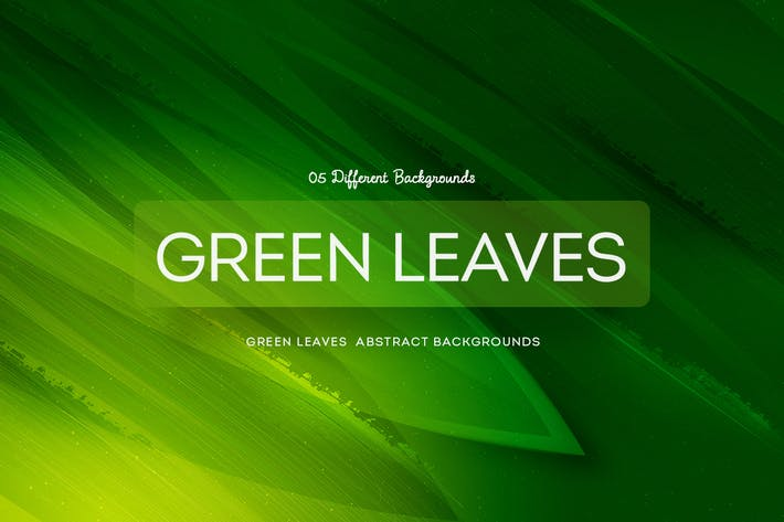 Thumbnail for Green Leaves Abstract Backgrounds COL 1