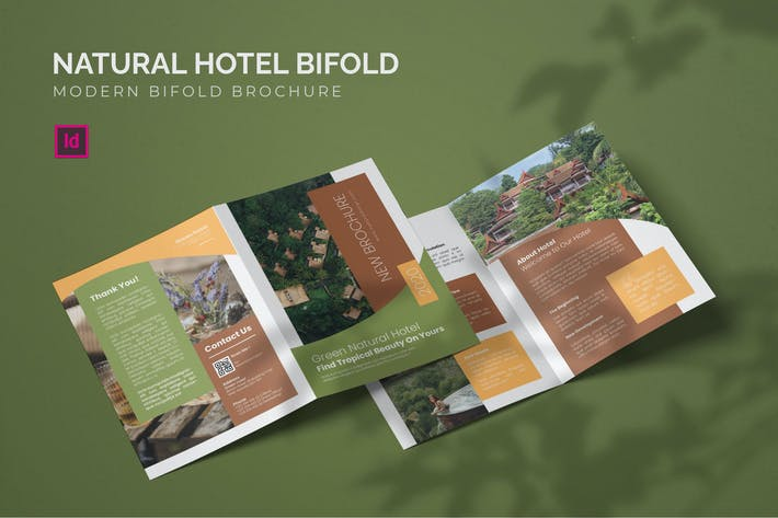 Thumbnail for Natural Hotel - Bifold Brochure
