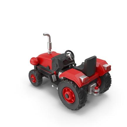 Traktor (rot)