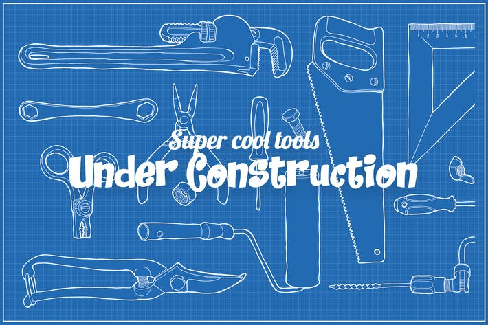 Thumbnail for Super cool under construction tool packs