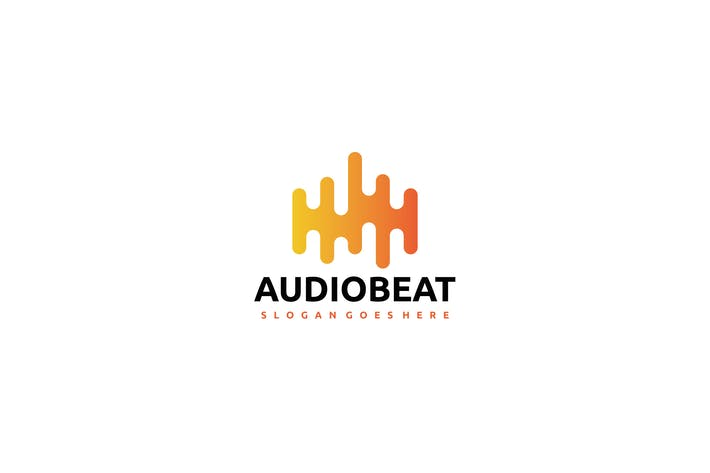 Cover Image For Audio Beat Logo