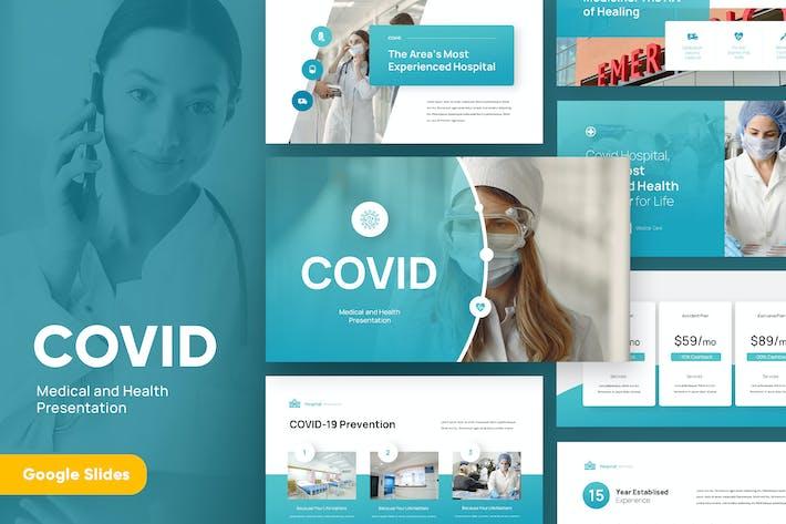 Thumbnail for COVID - Medical Google Slides Template