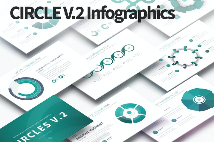 Thumbnail for CIRCLES V.2 - PowerPoint Infographics Slides