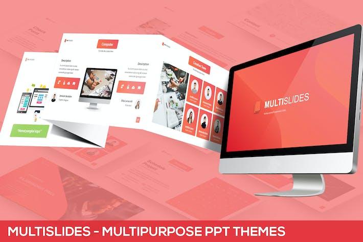 Thumbnail for MultiSlides - Multipurpose Gradient Presentation