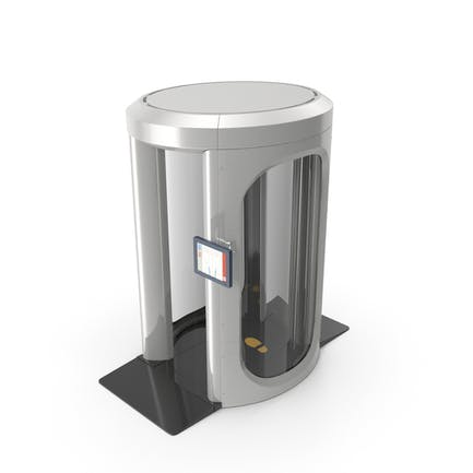 Full Body Airport Security Scanner