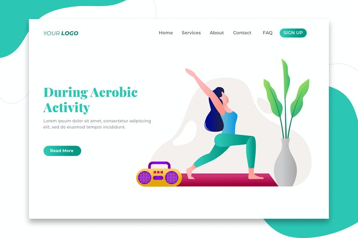 Thumbnail for During Aerobic Activity - Landing Page