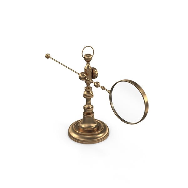 Thumbnail for Antique magnifying glass on the holder